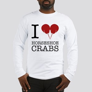 Horseshoe Crab Shirt Long Sleeve T-Shirt