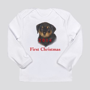 2014 First Christmas Ro Long Sleeve Infant T-Shirt
