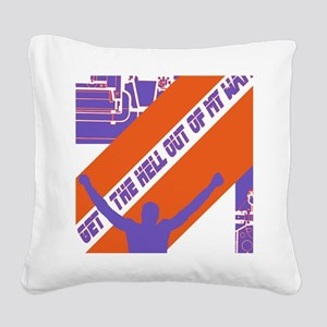 OUTOFMYWAY Square Canvas Pillow
