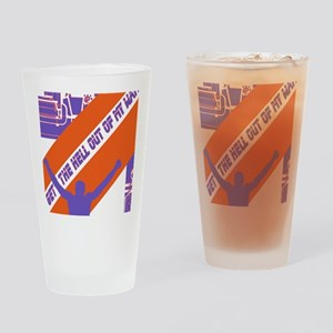 OUTOFMYWAY Drinking Glass