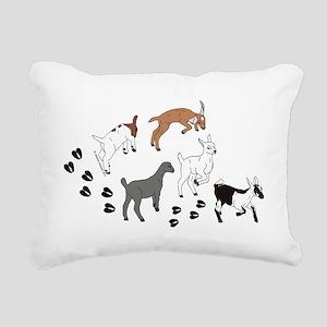 KidsWalkFront Rectangular Canvas Pillow