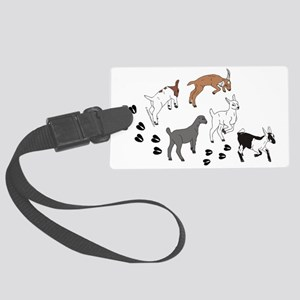 KidsWalkFront Large Luggage Tag