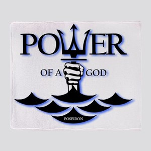 poseidon-power Throw Blanket