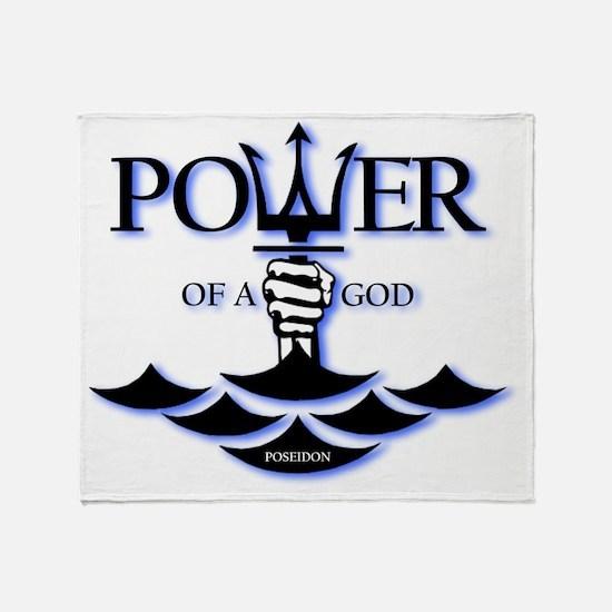 poseidon-power Throw Blanket
