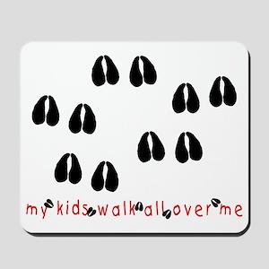KidWalkHooves Mousepad