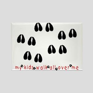 KidWalkHooves Rectangle Magnet
