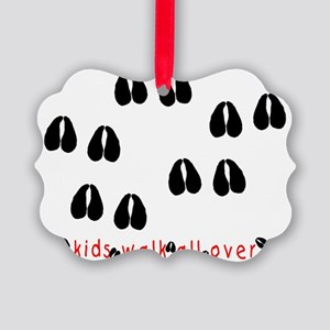 KidWalkHooves Picture Ornament