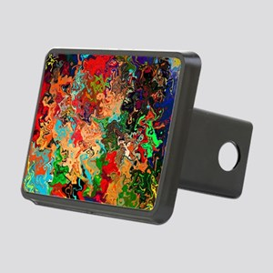 Beautiful Vomit Rectangular Hitch Cover
