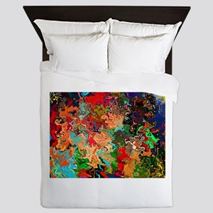 Beautiful Vomit Queen Duvet