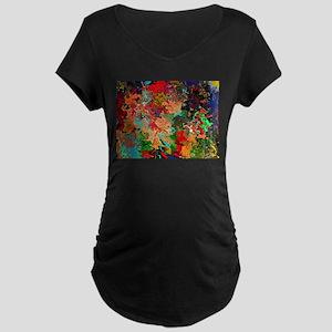 Beautiful Vomit Maternity Dark T-Shirt