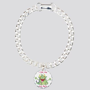 love you this much Charm Bracelet, One Charm