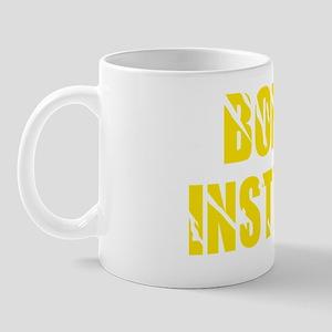 bondage instructor yellow Mug