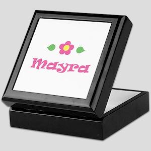 """Pink Daisy - """"Mayra"""" Keepsake Box"""