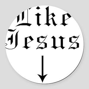 Like Jesus Round Car Magnet