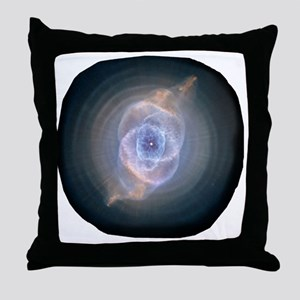 3-space_catseye Throw Pillow