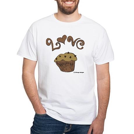 Love Muffin White T-Shirt