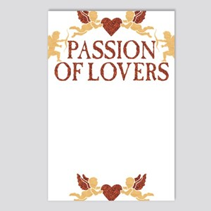 Lovers gold darkx Postcards (Package of 8)