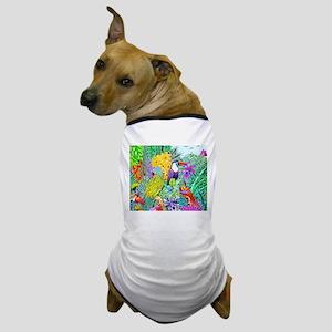 Nature's Sleeping Serenity Dog T-Shirt