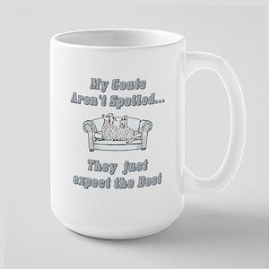 Spoiled Goats Large Mug