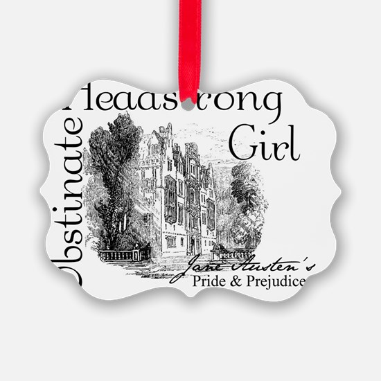 obstinate_girl_pemberly Ornament