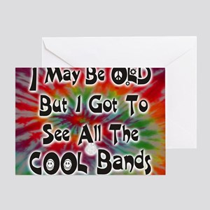 COOL BANDS mp Greeting Card
