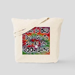 COOL BANDS mp Tote Bag