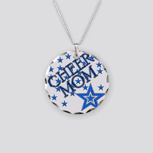 2-cheer_mom Necklace Circle Charm
