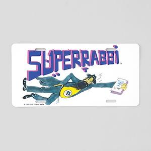 Superrabbiwhihrte Aluminum License Plate