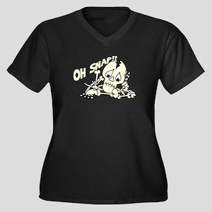 OhSnap copy Plus Size T-Shirt