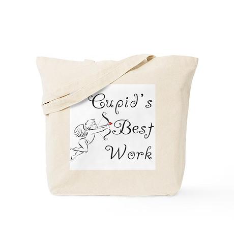 Cupid's Best Work Tote Bag