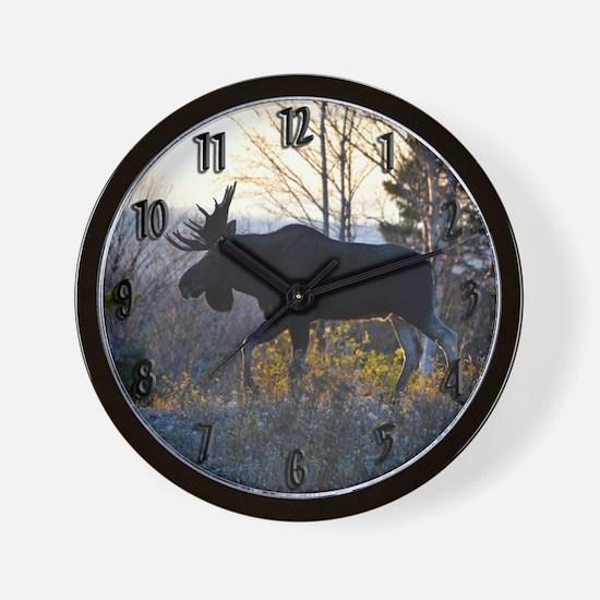 Handsome Bull Wall Clock