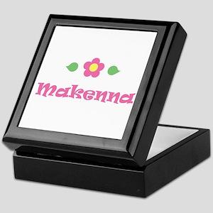 "Pink Daisy - ""Makenna"" Keepsake Box"
