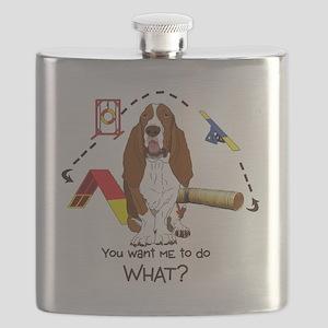 BassetDOWHAT Flask