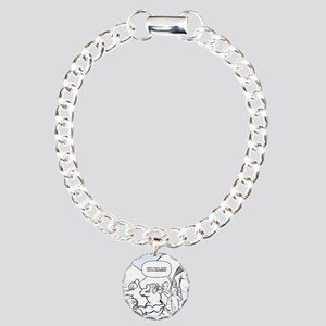 Abominable Snowmen Final Charm Bracelet, One Charm