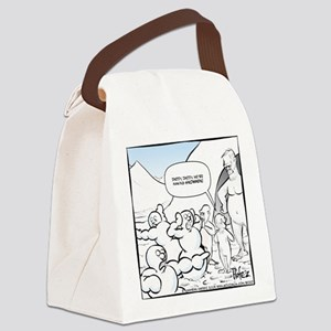 Abominable Snowmen Final Canvas Lunch Bag
