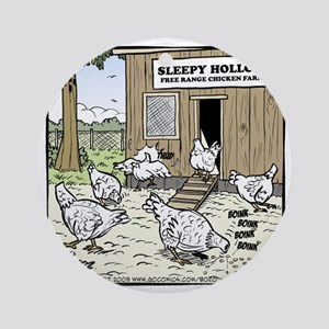 Sleepy Hollow Chicken Farm Final Round Ornament