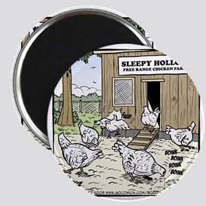 Sleepy Hollow Chicken Farm Final Magnet