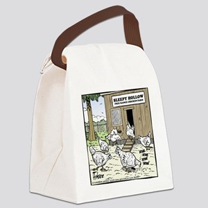 Sleepy Hollow Chicken Farm Final Canvas Lunch Bag