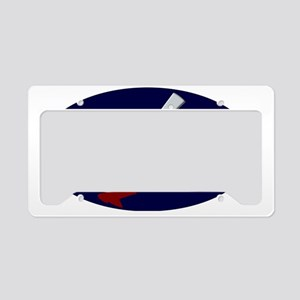 I Hate Whitney 5x3 oval stick License Plate Holder