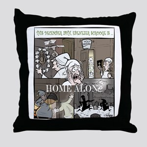 Home Alone Final Throw Pillow