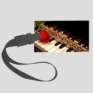 Flute Large Luggage Tag