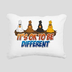 itsoktobedifferentchicke Rectangular Canvas Pillow