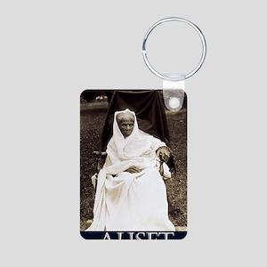 True Queen Aluminum Photo Keychain