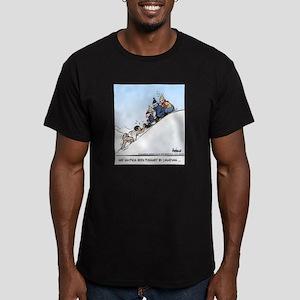 Sisyphus, Eh Final Men's Fitted T-Shirt (dark)