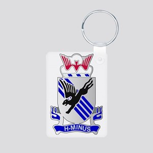 DUI-82ND AIRBORNE-3RD BCT Aluminum Photo Keychain