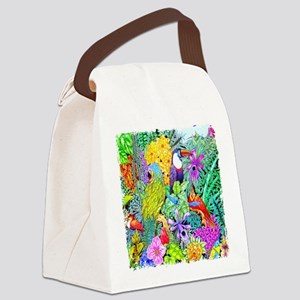 Nature's Sleeping Serenity Canvas Lunch Bag
