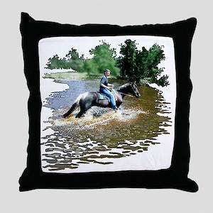 Sandy-n-Stella Throw Pillow