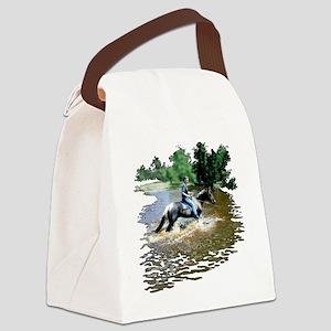 Sandy-n-Stella Canvas Lunch Bag