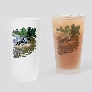 Sandy-n-Stella Drinking Glass