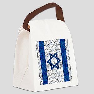 Israel Synagogue Tiffany Canvas Lunch Bag